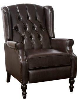 Narrow recliner Elizabethan