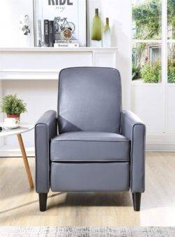 Narrow recliner Fold Out Wooden Frame
