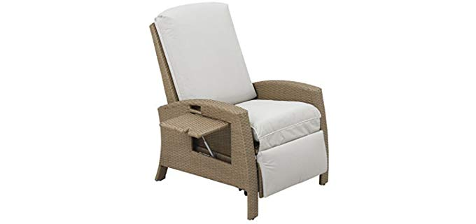 Outsunny Wicker Style - Rattan Recliner