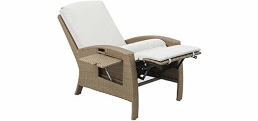 Outdoor Rattan Recliner