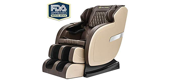Real Relax Robotic S Track - Massage Recliner for Fibromyalgia