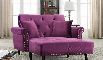 Reclining Chaise Lounge Sofa feature