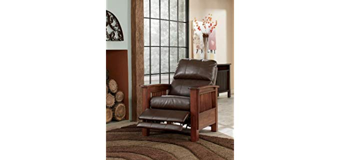 Ashleigh Furniture Santa Fe - High Leg Recliner