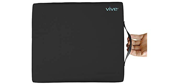VIVE Gel Cushion - Recliner and Wheelchair Pressure Sore Relief Cushion