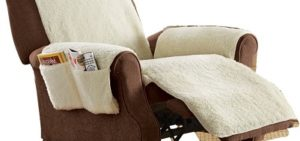 recliner Cover with Side pockets