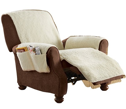 Best Recliner Covers with Pockets