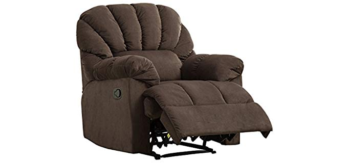 Bonzy Scalloped Chair - Extra Large Recliner