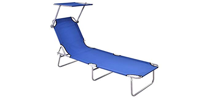 Giantex Lounge Chair - Outdoor Recliner