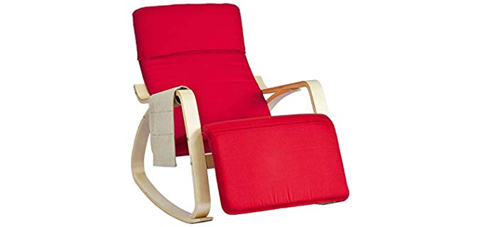Haotian relax - Modern Mission Style Rocking Recliner