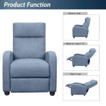 Low Profile Recliner Charactaristics and Functions