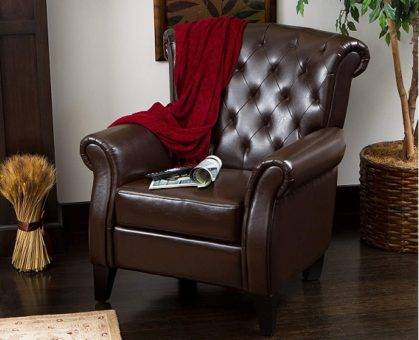 Low profile recliner STYLING