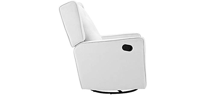 Naomi Home Odelia - Full Recline Rocking and Swiveling Chair