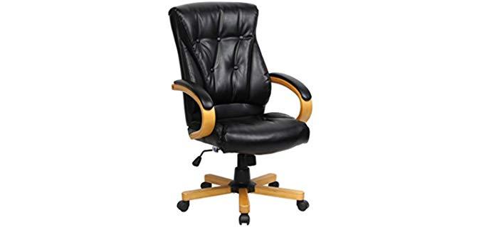 VIVA Office High End Office Chair - Lumbar Supportive Office Recliner Chair