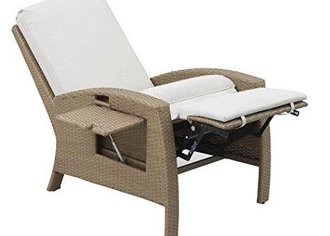 Wicker recliner FEATURE