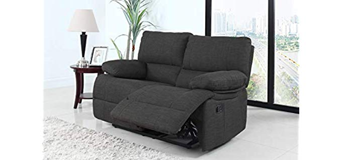 Divano Roma Classic - Loveseat Recliner Chair