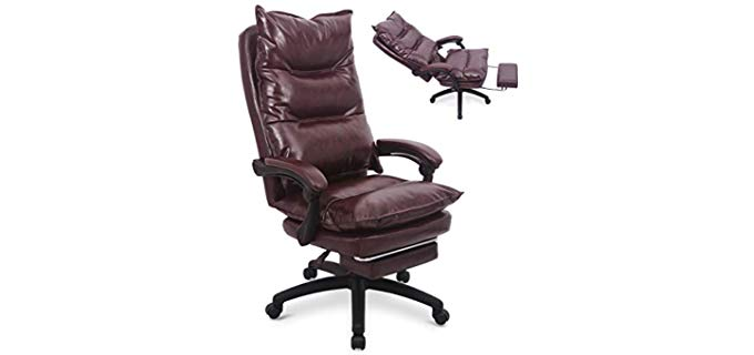 Amooly Leather - Computer and Gaming Chair