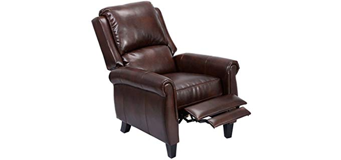 Giantex PU Leather - Push Back Recliner