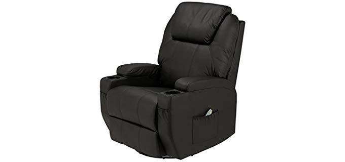 Homegear Swivel - Orthopedic reclining Swivel Chair