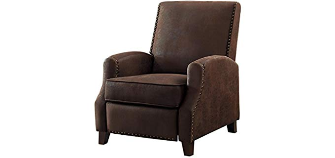 Home Elegance Walden - Vintage Push Back Recliner