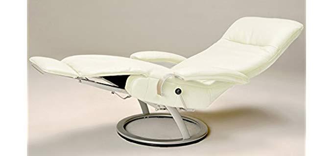 Lafer Recliner Chairs Kiri Sleeper Recliner - Plush Modern Recliner Chair for Sleeping