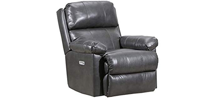 Lane Furniture Soft Touch Recliner Chair - Pure Quality Top Grain Push Back Recliner