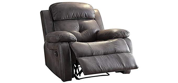 Major-Q Bianca - Memory Foam Reclining Chair