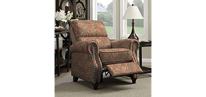 Portfolio Pro Lounger - Stylish Push Back Recliner