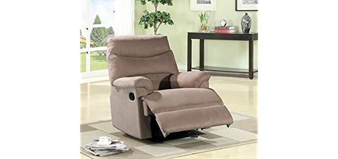 US PRIDE Furniture Contemporary - High End Vintage Recliner