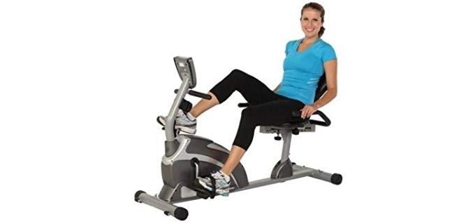 Exerpeutic 1000 - High Capacity Recline Exercise Bike