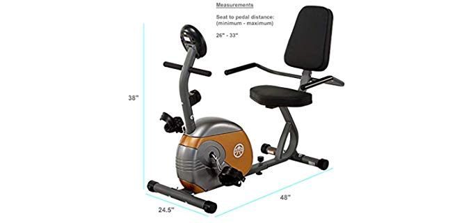 Marcy Resistance - Reclining Exercise Bike