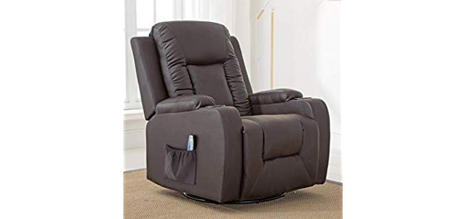 ComHoma Leather - Ergonomic Comfort Recliner