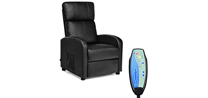 Giantex Sigle Sofa - Remote Controlled Recliner